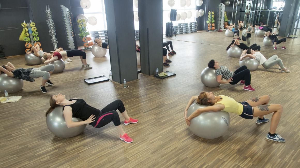 Zona antrenamentelor de grup